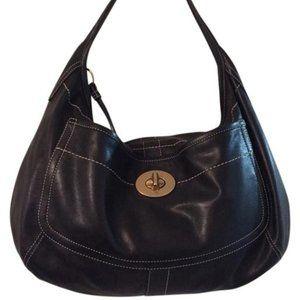 Coach Leather XL Ergo Hobo Shoulder Bag #10741